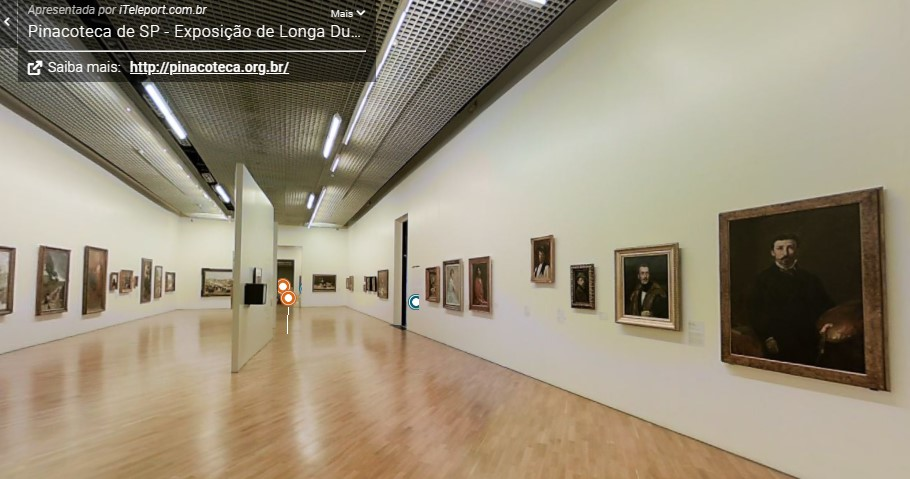 tour virtual pinacoteca sao paulo